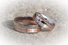 Ringar som symbol för bröllop